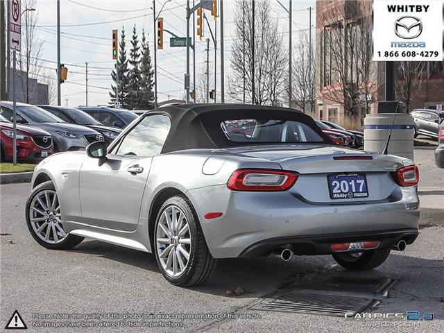 2017 Fiat 124 Spider Lusso (Stk: P17388) in Whitby - Image 4 of 27