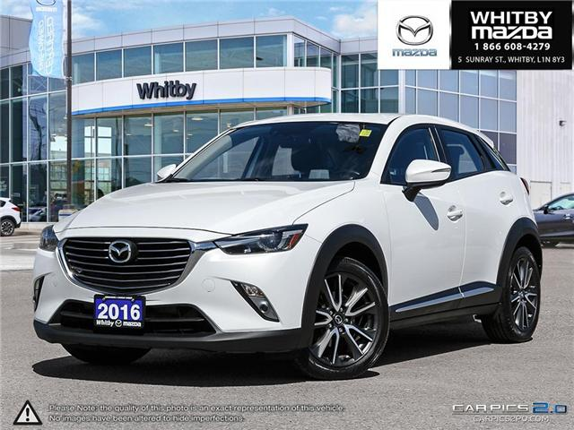 2016 Mazda CX-3 GT (Stk: 180642A) in Whitby - Image 1 of 27