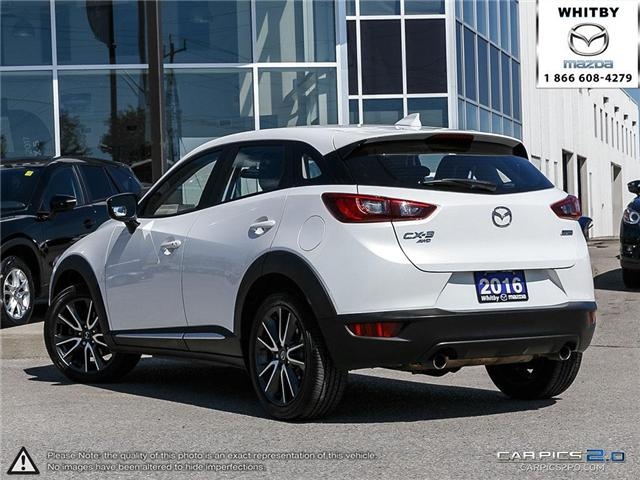2016 Mazda CX-3 GT (Stk: 180642A) in Whitby - Image 4 of 27