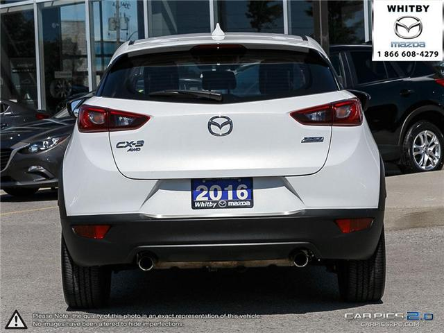 2016 Mazda CX-3 GT (Stk: 180642A) in Whitby - Image 5 of 27