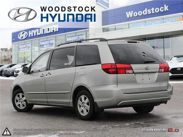 2004 Toyota Sienna CE 7 Passenger (Stk: P1350A) in Woodstock - Image 4 of 26