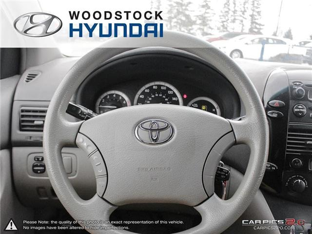 2004 Toyota Sienna CE 7 Passenger (Stk: P1350A) in Woodstock - Image 7 of 26