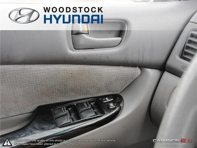 2004 Toyota Sienna CE 7 Passenger (Stk: P1350A) in Woodstock - Image 10 of 26