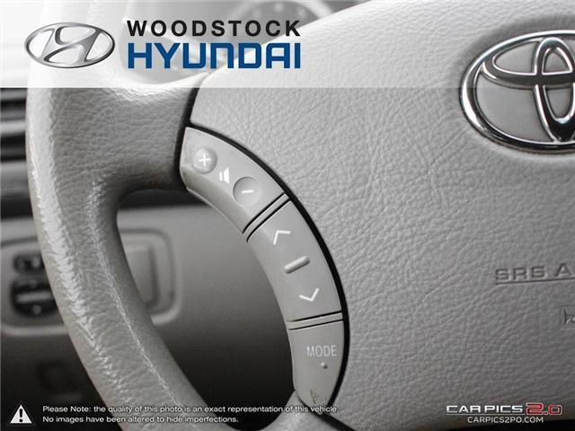 2004 Toyota Sienna CE 7 Passenger (Stk: P1350A) in Woodstock - Image 11 of 26