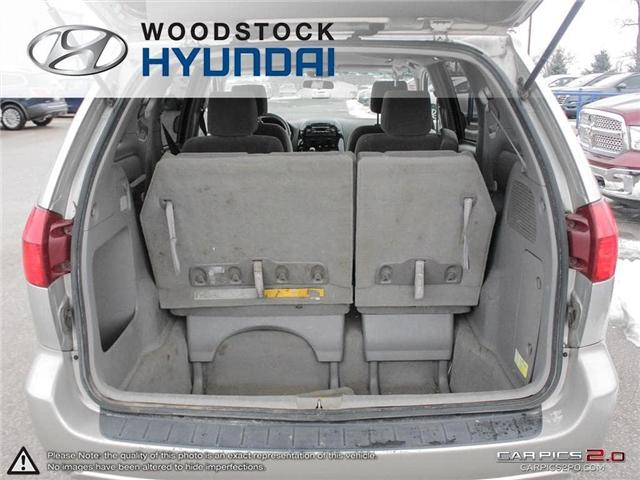 2004 Toyota Sienna CE 7 Passenger (Stk: P1350A) in Woodstock - Image 25 of 26