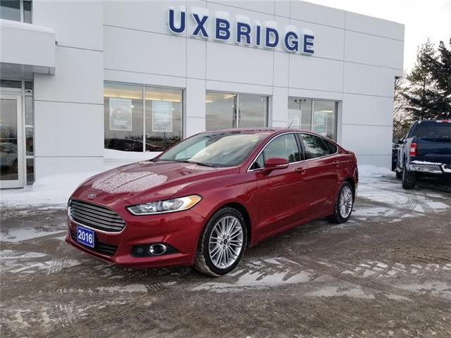2016 Ford Fusion SE (Stk: P1221) in Uxbridge - Image 1 of 10