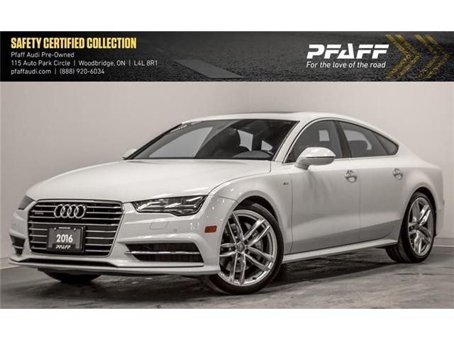 2016 Audi A7 3.0T Progressiv (Stk: C6510) in Woodbridge - Image 1 of 18