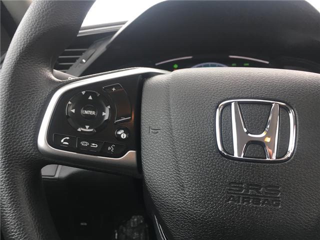 2019 Honda Civic LX (Stk: 19541) in Barrie - Image 10 of 13