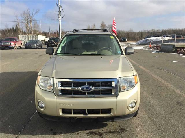 2010 Ford Escape XLT Automatic (Stk: KB38972A) in Antigonish / New Glasgow - Image 2 of 9