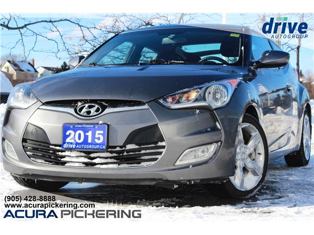 2015 Hyundai Veloster SE (Stk: AT374A) in Pickering - Image 1 of 23