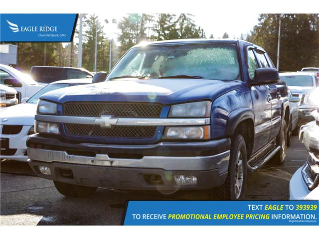 2003 Chevrolet Avalanche 1500 Base (Stk: 038557) in Coquitlam - Image 1 of 4