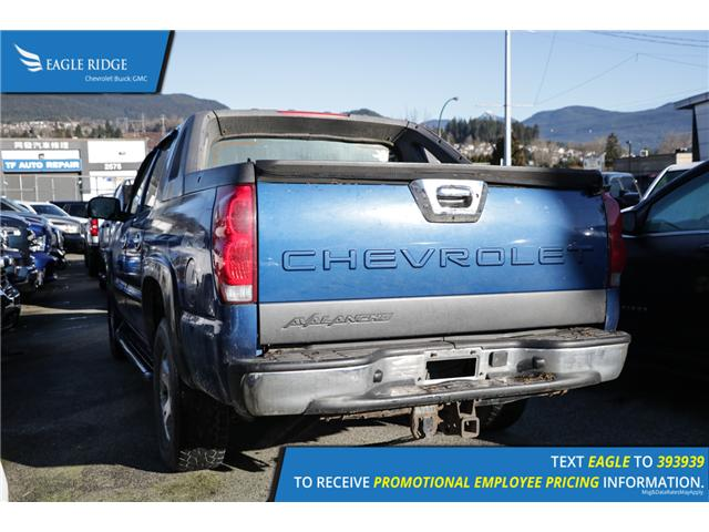 2003 Chevrolet Avalanche 1500 Base (Stk: 038557) in Coquitlam - Image 2 of 4