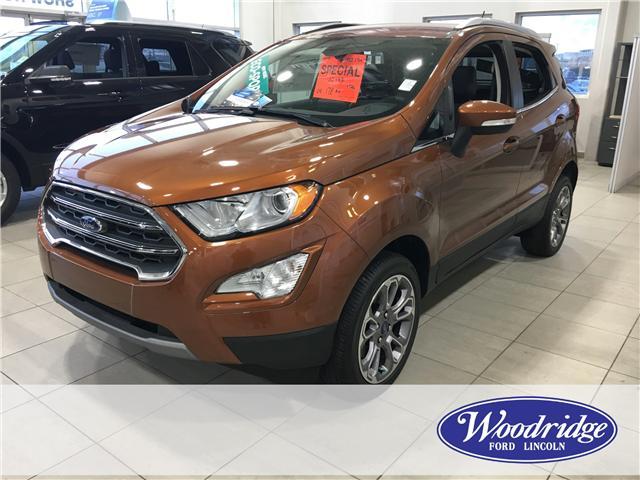 2018 Ford EcoSport Titanium (Stk: J-2228) in Calgary - Image 1 of 6