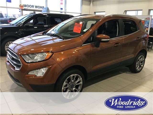 2018 Ford EcoSport Titanium (Stk: J-2228) in Calgary - Image 2 of 6