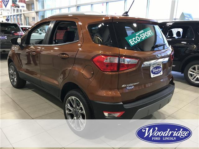2018 Ford EcoSport Titanium (Stk: J-2228) in Calgary - Image 3 of 6