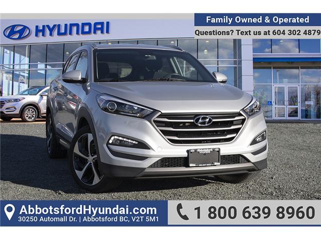 2016 Hyundai Tucson Premium 1.6 (Stk: AH8796) in Abbotsford - Image 1 of 28