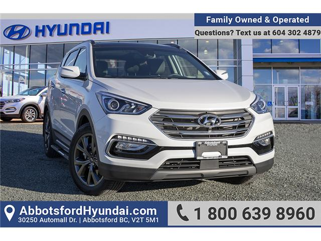2018 Hyundai Santa Fe Sport 2.0T Ultimate (Stk: AH8797) in Abbotsford - Image 1 of 24