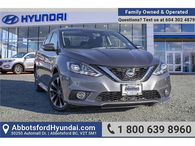 2017 Nissan Sentra 1.6 SR Turbo (Stk: KK022278A) in Abbotsford - Image 1 of 24