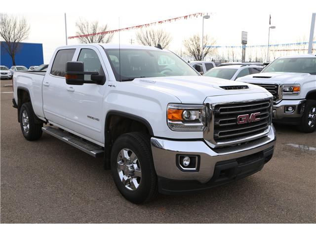 2018 GMC Sierra 2500HD SLE (Stk: 163068) in Medicine Hat - Image 1 of 28