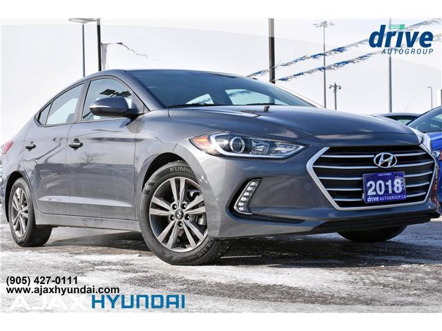 2018 Hyundai Elantra GL SE KMHD84LF6JU650300 P4645R in Ajax