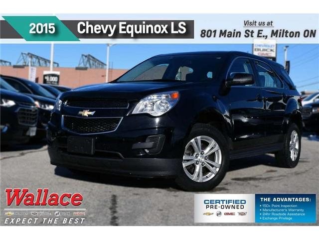 2015 Chevrolet Equinox LS/1-OWNR/CLEAN HSTRY/7 SCRN/BLUTH/6-SPKR 2GNALAEK7F6369571 PL5174 in Milton