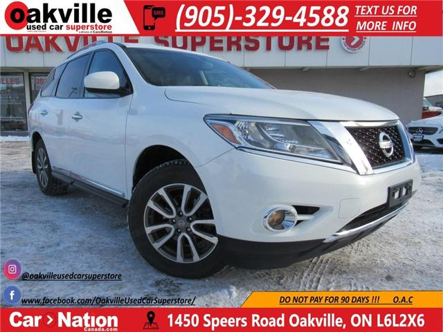 2014 Nissan Pathfinder SL AWD   HTD LEATHER   REVERSE CAMERA   7 PASS (Stk: P11783) in Oakville - Image 1 of 28