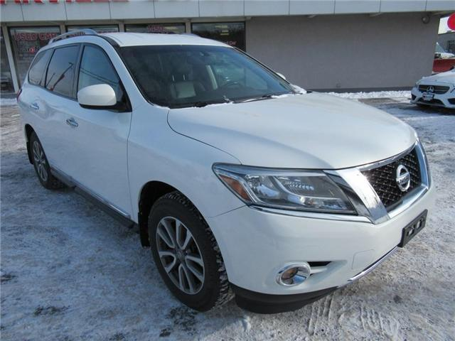 2014 Nissan Pathfinder SL AWD   HTD LEATHER   REVERSE CAMERA   7 PASS (Stk: P11783) in Oakville - Image 2 of 28