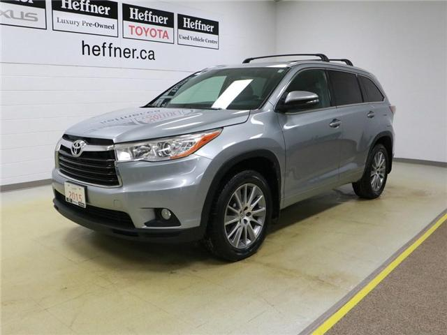 2015 Toyota Highlander XLE (Stk: 195041) in Kitchener - Image 1 of 30