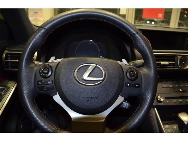 2015 Lexus IS 350 Base (Stk: 014763) in Milton - Image 19 of 41