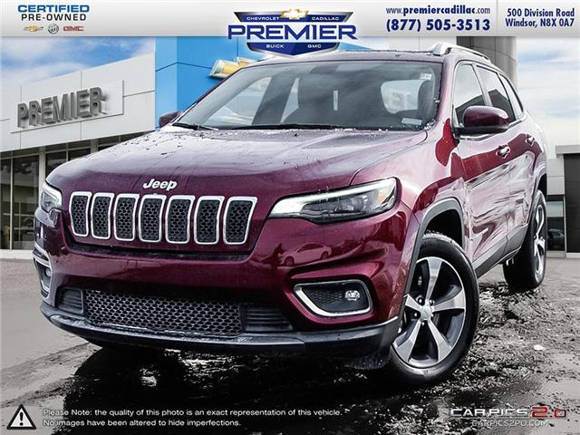 2019 Jeep Cherokee Limited (Stk: P19016) in Windsor - Image 1 of 27