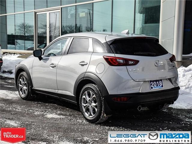2018 Mazda CX-3 GS AWD,  LUX, NAV and I-ACTIVSENSE PKGE (Stk: 1755) in Burlington - Image 4 of 25