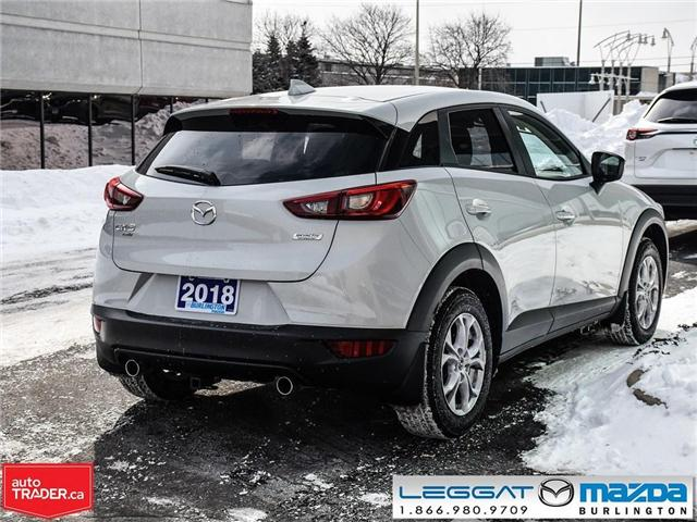 2018 Mazda CX-3 GS AWD,  LUX, NAV and I-ACTIVSENSE PKGE (Stk: 1755) in Burlington - Image 6 of 25