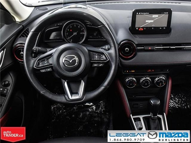 2018 Mazda CX-3 GS AWD,  LUX, NAV and I-ACTIVSENSE PKGE (Stk: 1755) in Burlington - Image 15 of 25