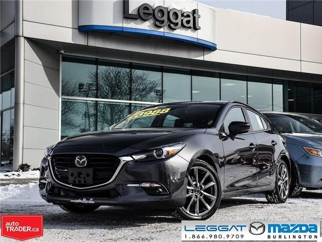 2018 Mazda Mazda3 Sport GT- LEATHER, NAV, BOSE, REAR CAMERA (Stk: 1758) in Burlington - Image 1 of 26