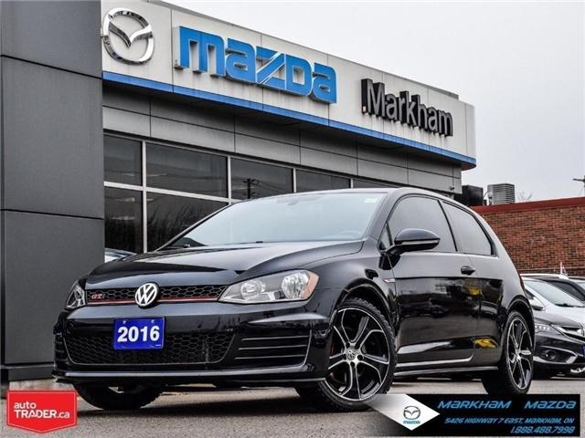 2016 Volkswagen Golf GTI  (Stk: Q190087B) in Markham - Image 1 of 25