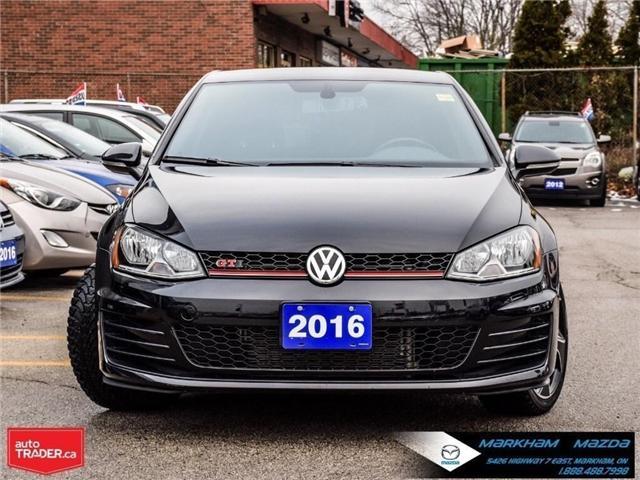 2016 Volkswagen Golf GTI  (Stk: Q190087B) in Markham - Image 2 of 25