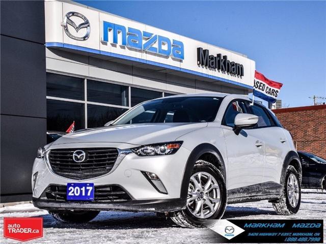 2017 Mazda CX-3 GS (Stk: H190155A) in Markham - Image 1 of 27