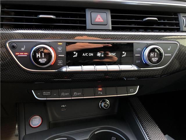 2018 Audi S5 3.0T Technik (Stk: N4927) in Calgary - Image 16 of 24