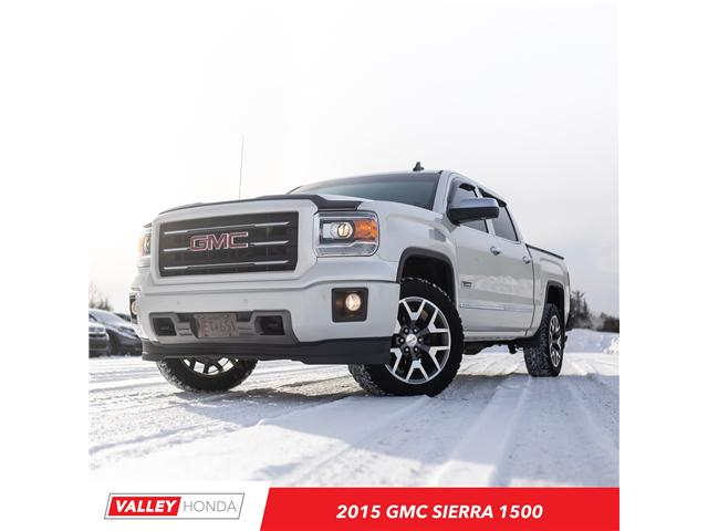 2015 GMC Sierra 1500 SLT (Stk: U5092B) in Woodstock - Image 1 of 17
