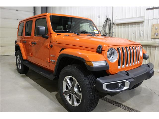 2019 Jeep Wrangler Unlimited Sahara (Stk: KT044) in Rocky Mountain House - Image 3 of 30