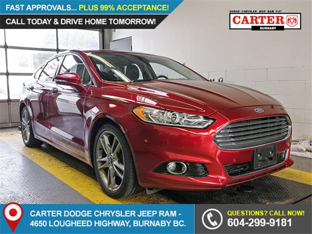 2013 Ford Fusion Titanium (Stk: K495681) in Burnaby - Image 1 of 21