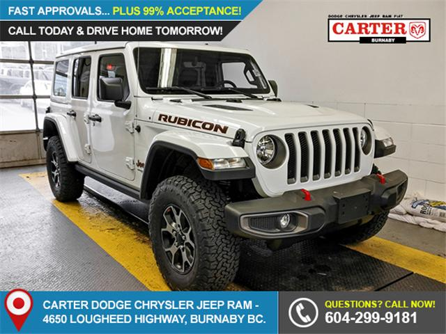 2019 Jeep Wrangler Unlimited Rubicon (Stk: Y484430) in Burnaby - Image 1 of 12