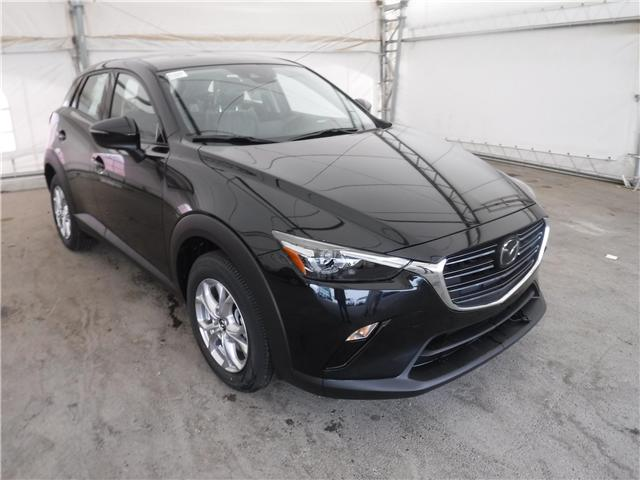 2019 Mazda CX-3 GS (Stk: M1642) in Calgary - Image 1 of 5