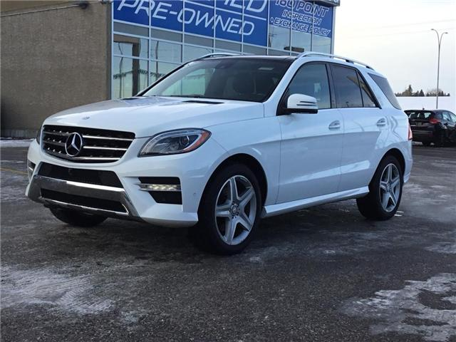 2015 Mercedes-Benz M-Class Base (Stk: K7692) in Calgary - Image 1 of 24
