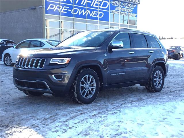 2016 Jeep Grand Cherokee Limited (Stk: K7632) in Calgary - Image 1 of 25