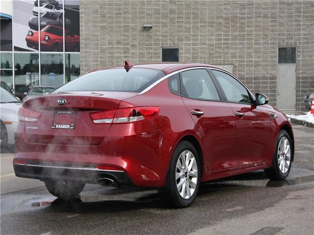 2018 Kia Optima LX+ (Stk: K7681) in Calgary - Image 5 of 23