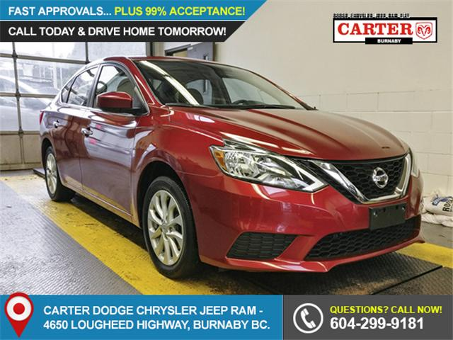 2017 Nissan Sentra 1.8 SV (Stk: 9-5985-1) in Burnaby - Image 1 of 26