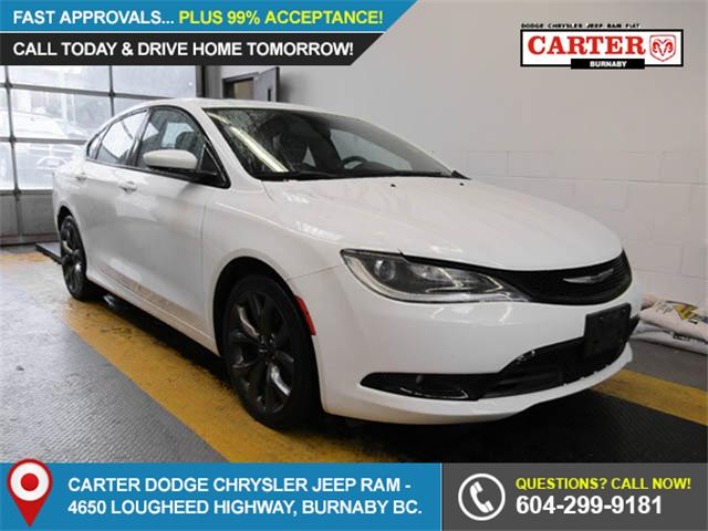 2015 Chrysler 200 S (Stk: 9-6012-1) in Burnaby - Image 1 of 24