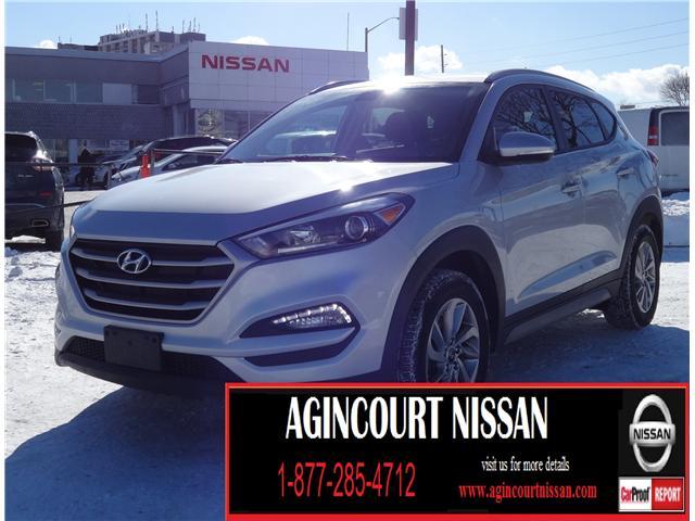 2017 Hyundai Tucson SE (Stk: U12393R) in Scarborough - Image 1 of 21