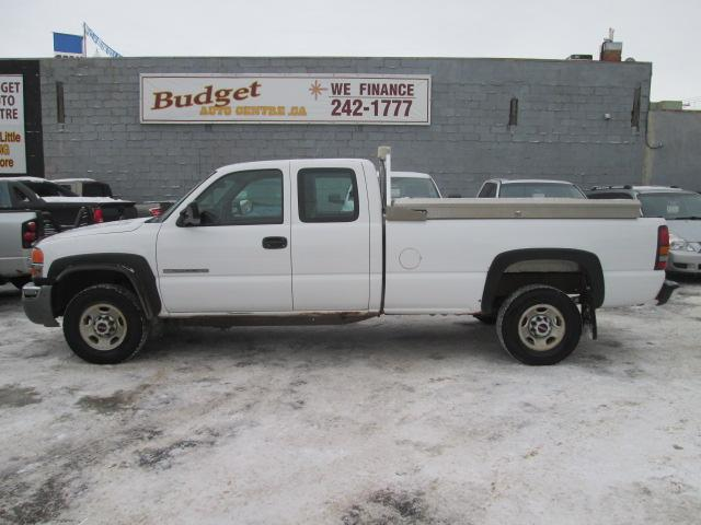 Used Gmc Sierra 2500hd For Sale In Saskatoon Budget Auto Centre